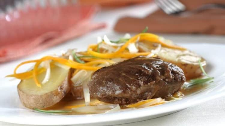 Carrillada de cerdo con patatas receta thermomix