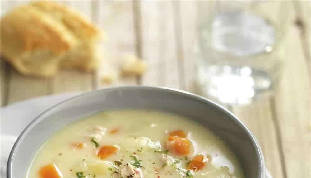 crema pollo con verduras recetasthermomix.net
