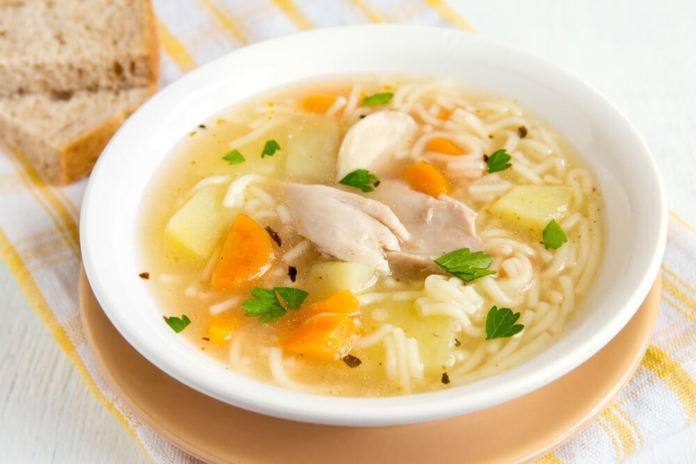 sopa de pollo al estragon recetasthermomix.net