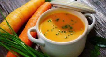 Crema de Zanahorias y Naranja