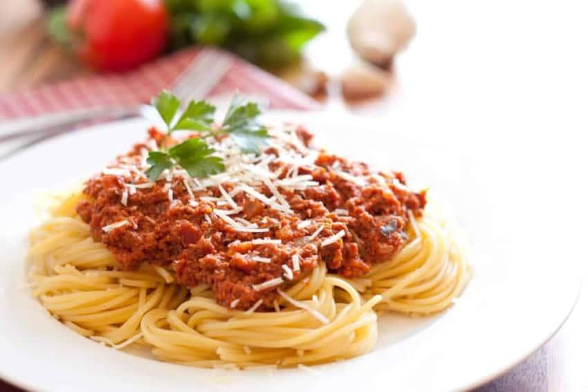 espaguetis bolonesa thermomix