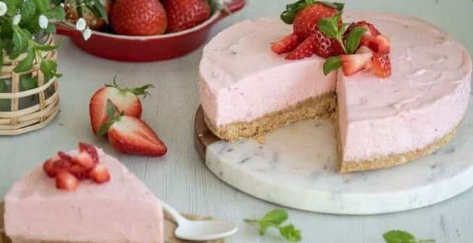 tarta de fresa thermomix