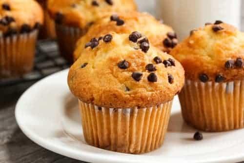 muffins de flan con chocolate receta thermomix