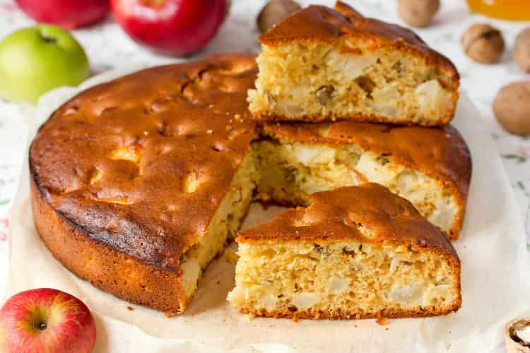 Bizcocho-de-Nueces-y-Manzana-receta