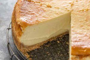 tarta de queso y turron thermomix