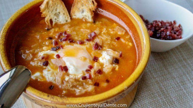 sopa castellana con thermomix