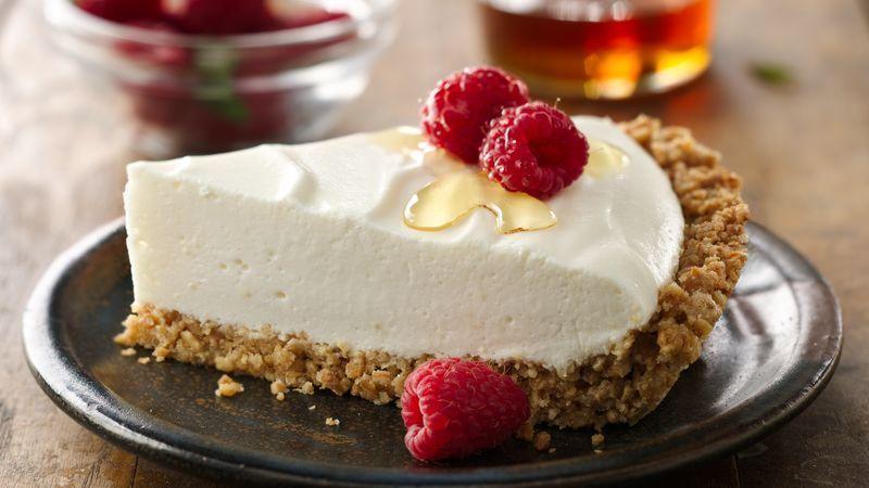 ¡Tarta de yogur y frutas!